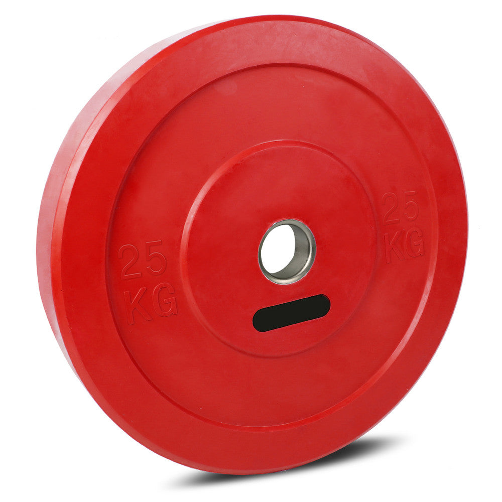 25KG Red Olympic Bumper Plate