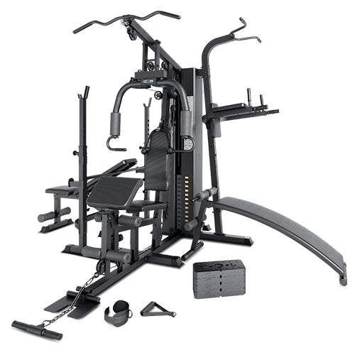 Multi-Function Gym Stations Target all muscle groups with our versatile gym stations