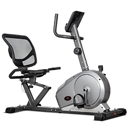 Recumbent Bikes Workout with the right ergonomic support
