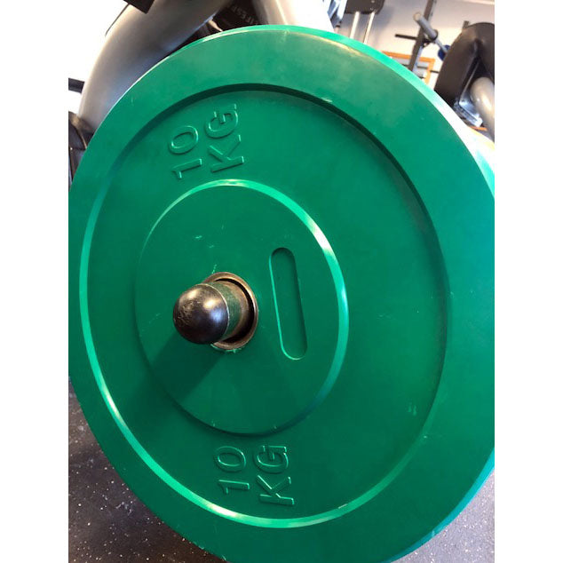 10 KG OLYMPIC WEIGHT PLATE (GREEN) X4
