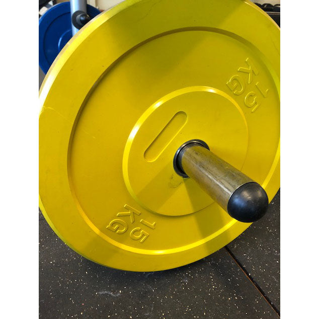 15 KG OLYMPIC WEIGHT PLATE (YELLOW) X4