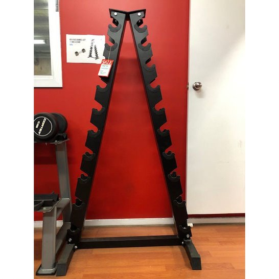 Fixed Hex Dumbbell Stand Only (Fits 1-10kg pairs)