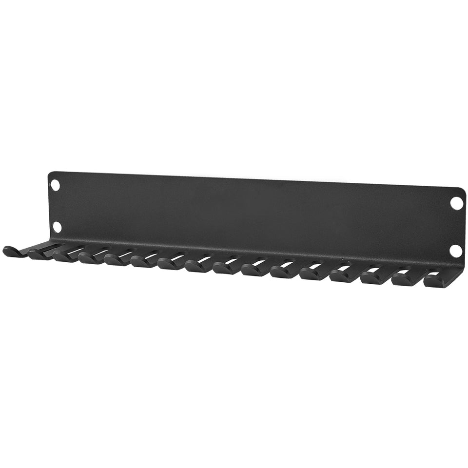 Wall Mount Resistance Band & Belt Hanger (16 Slots)