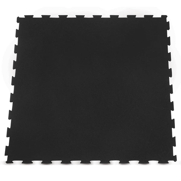 Interlocking Rubber Gym Floor Mat 10mm Set of 9