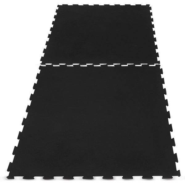 Interlocking Rubber Gym Floor Mat 10mm Set of 36