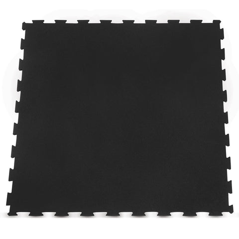 Interlocking Rubber Gym Floor Mat 15mm