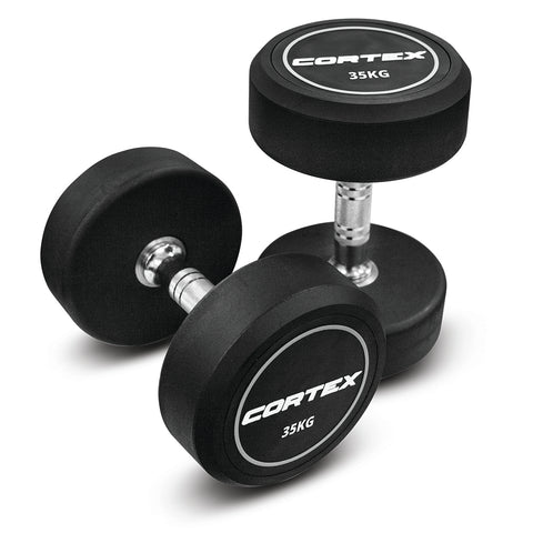 CORTEX Pro-Fixed Dumbbells 35kg (Pair)