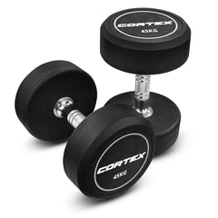 CORTEX Pro-Fixed Dumbbells 45kg (Pair)