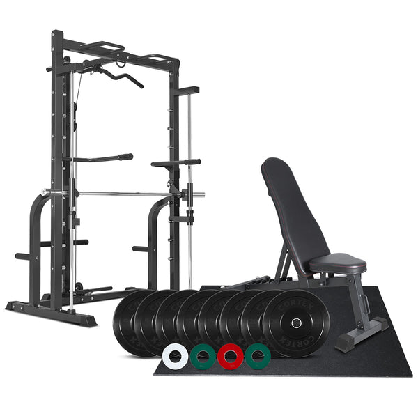 CORTEX SM-10 Smith Machine 106kg Home Gym Package