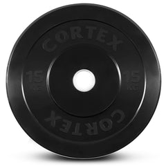 CORTEX 15kg Black Series Bumper Plates (Pair)