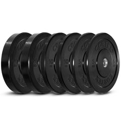 CORTEX 70kg Black Series Bumper Plate Set