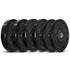 CORTEX 90kg Black Series Bumper Plate Set