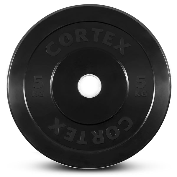 CORTEX 150kg Black Series Bumper Plate Set
