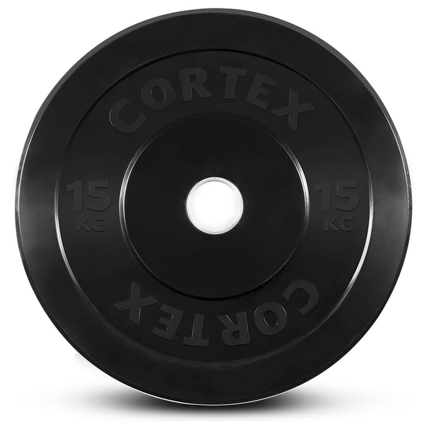 CORTEX 170kg Black Series Bumper Plate Set