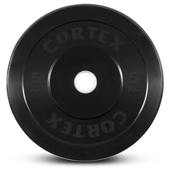 CORTEX 300kg Black Series Bumper Plate Set