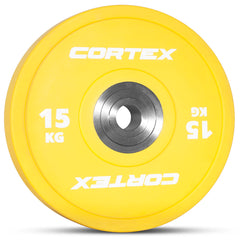 CORTEX 15kg Competition Bumper Plates (Pair)