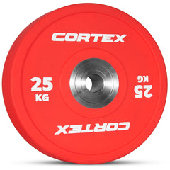 CORTEX 25kg Competition Bumper Plates (Pair)