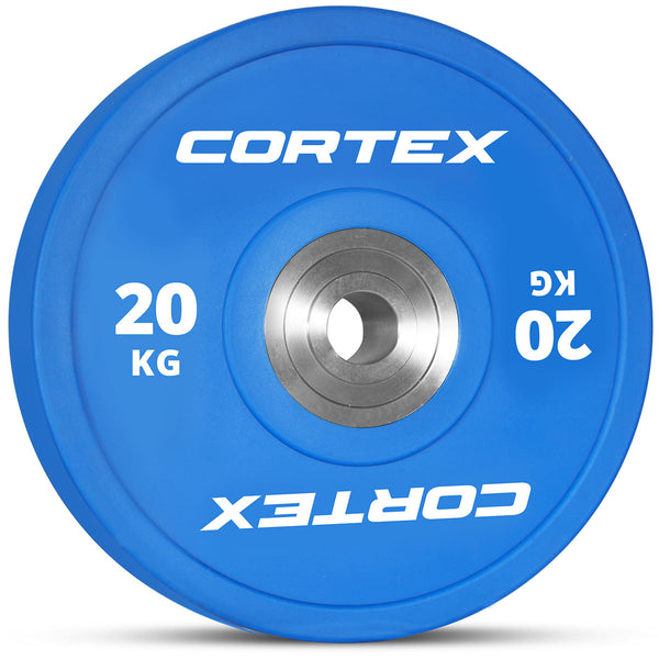 CORTEX 150kg Competition Bumper Plates Set