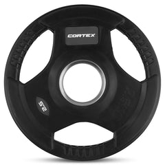CORTEX 2.5kg Tri-Grip 50mm Olympic Plates (Pair)