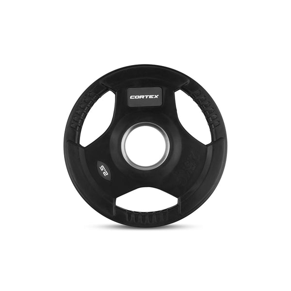 CORTEX 35kg Tri-Grip 50mm Olympic Plate Set