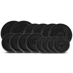 CORTEX 75kg Cast Iron Weight Plate Set (Standard)