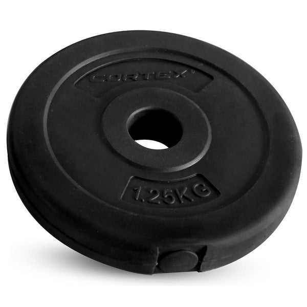 CORTEX 1.25kg EnduraShell 25mm Standard Plates (Set of 4)