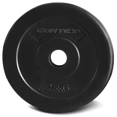 CORTEX 2.5kg EnduraShell 25mm Standard Plates (Set of 4)