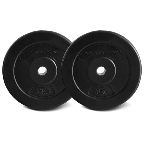 CORTEX 10KG EnduraShell Weight Plate 25mm (2 Pack)