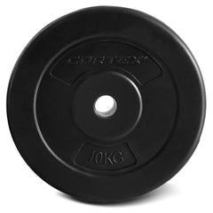 CORTEX 10kg EnduraShell 25mm Standard Plates (Set of 4)