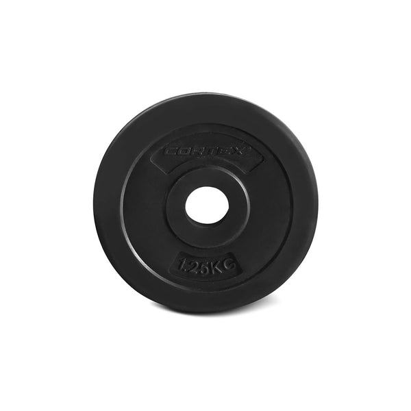 CORTEX 90kg EnduraShell Barbell Weight Set with Weight Tree