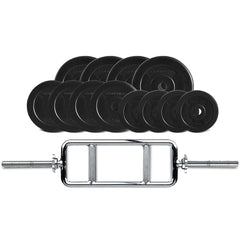 CORTEX 40kg EnduraShell Tri Bar Weight Set