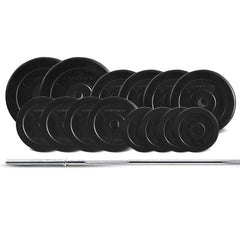 CORTEX 65kg EnduraShell Barbell Weight Set