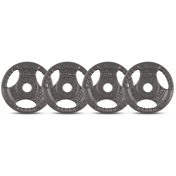 CORTEX 1.25kg Tri-Grip 25mm Standard Plates (Set of 4)