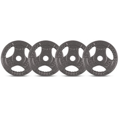 CORTEX 2.5kg Tri-Grip 25mm Standard Plates (Set of 4)