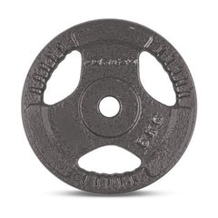 CORTEX 5kg Tri-Grip 25mm Standard Plates (Set of 4)