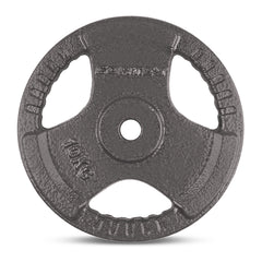 CORTEX 10kg Tri-Grip 25mm Standard Plates (Pair)