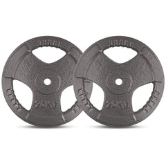 CORTEX 20kg Tri-Grip 25mm Standard Plate (Pair)