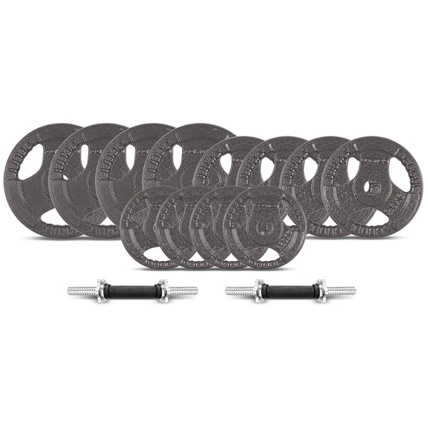 CORTEX 40kg Dumbbell 25mm Standard Weight Set