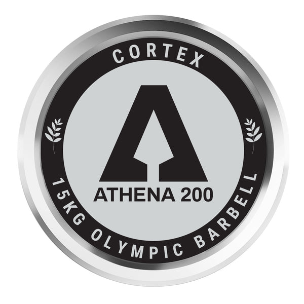 CORTEX ATHENA200 200cm 15kg Womens' Olympic Barbell with Lockjaw Collars