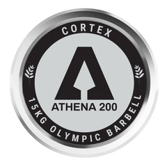 CORTEX ATHENA200 200cm 15kg Women's Olympic Barbell