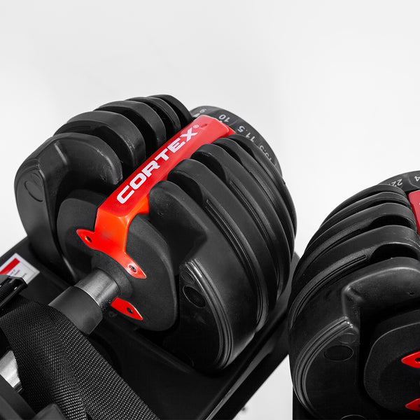 CORTEX Adjustable Dumbbells 48kg