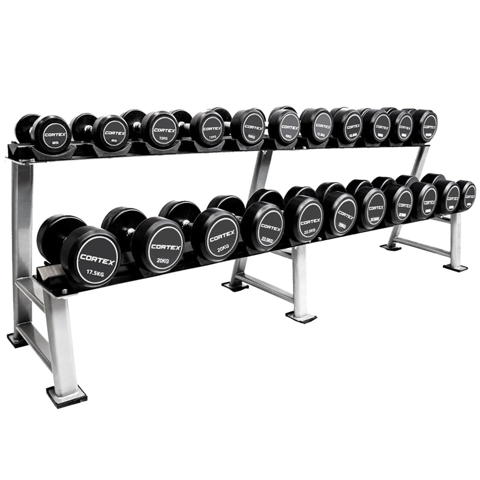 CORTEX Pro-Fixed Dumbbells 5kg - 30kg