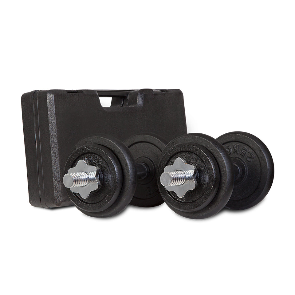 20kg Dumbbell Set with Case
