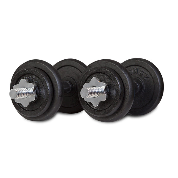 CORTEX 20kg Dumbbell Set with Case