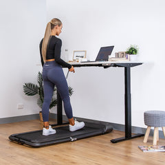WalkingPad Pro Treadmill with ErgoDesk Automatic Standing Desk 1800mm