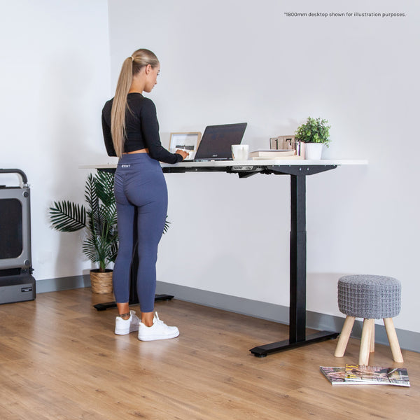 WalkingPad Pro Treadmill with ErgoDesk Automatic Standing Desk 1500mm