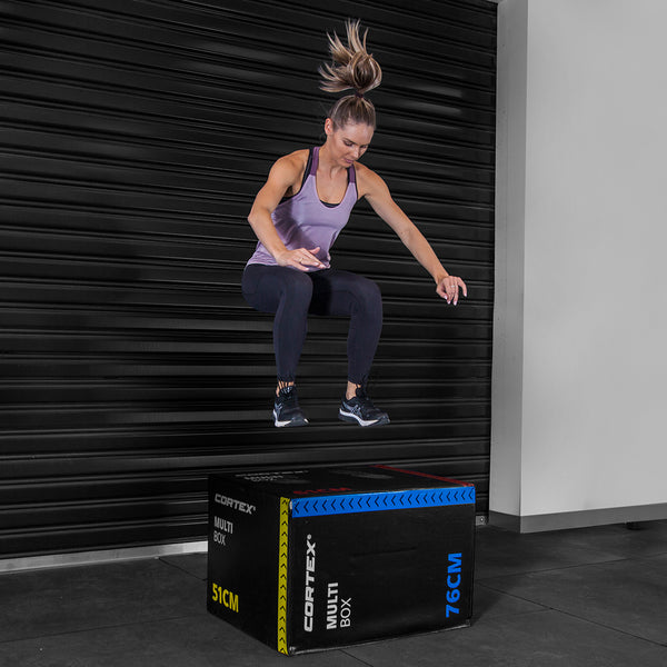 CORTEX 3-in-1 Flip Soft Plyo Box