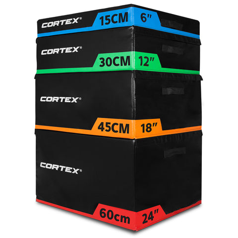 CORTEX Soft Plyo Box Stacking Set