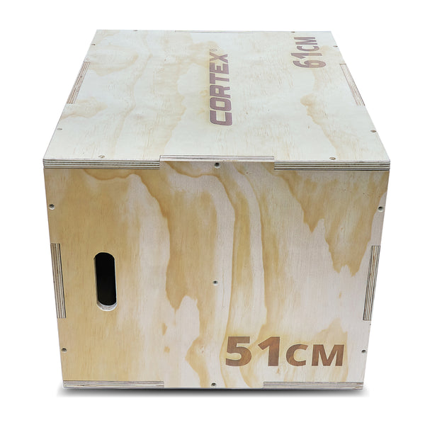 CORTEX Wooden 3-in-1 Plyo Box