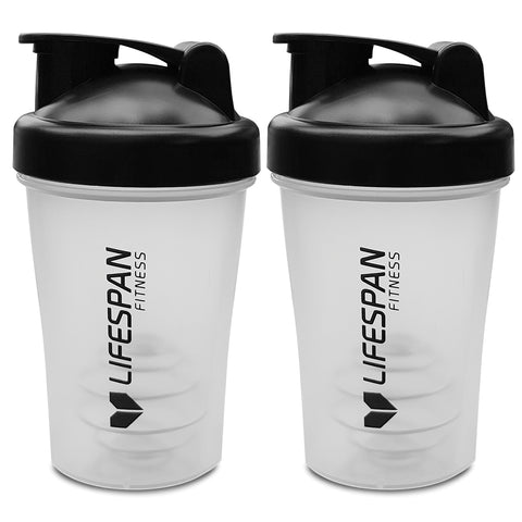 Lifespan Fitness Shaker Bottle 2 Pack